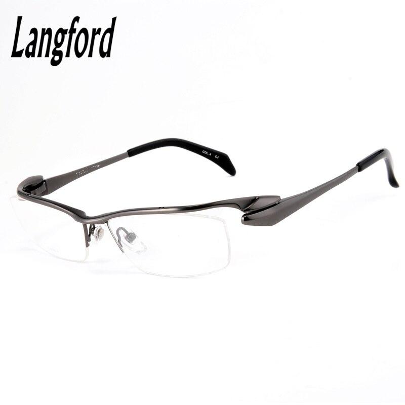 Monture de lunettes en titane pur haut de gamme pour hommes lunettes optiques montures de lunettes
