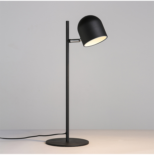 LED Nordic Contemporary contracted reading Work desk lamp creative personality office desk lamp