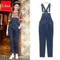 Classic Elasticity Denim Overalls Jeans Women jumpsuit Tight High Waist Denim jumpsuit For Women Jeans
