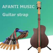 Afanti Music Acoustic Guitar Strap (ASP-099)