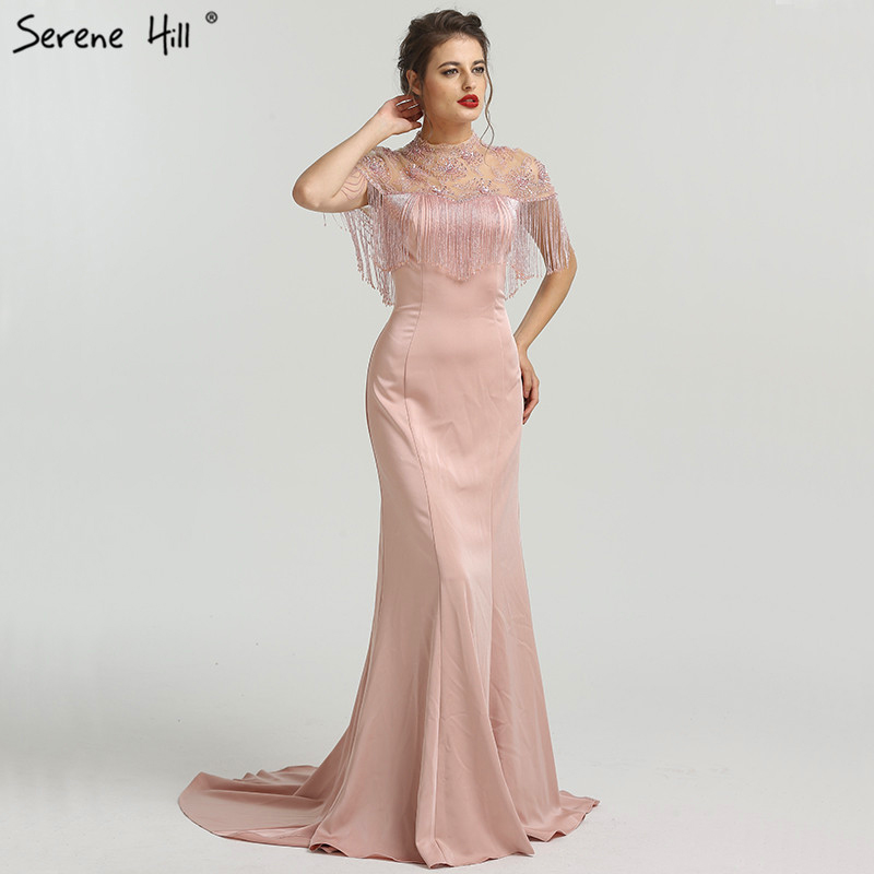 ... 2019 Sleeveless Fashion Sexy Mermaid Evening Dress Real. Mouse over to  zoom in 499dee6d0