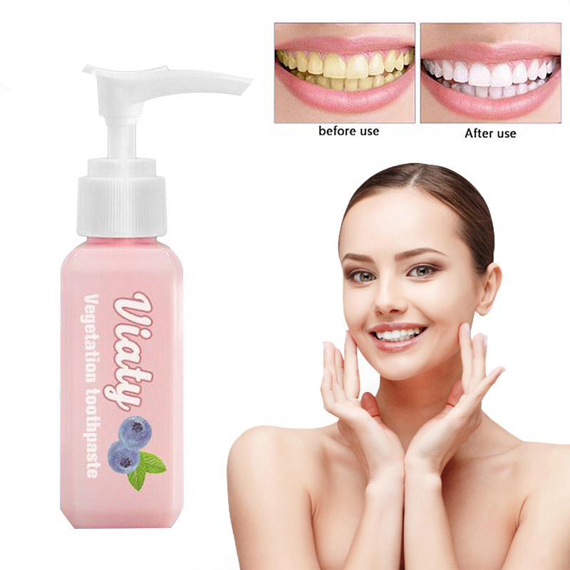 1Pc 30ml Blueberry Flavor Toothpaste Stain Removal Tooth Whitening Tooth Paste Prevent Teeth Decay Bleeding Fresh Breath TSLM1