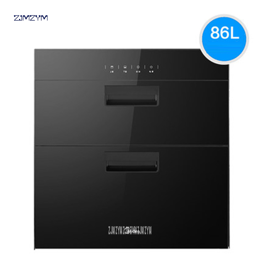 MXV-ZLP90Q15 kitchen 86L electronic touch control embedded disinfection cabinet infrared ultraviolet disinfection cupboard 1