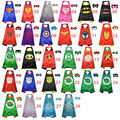 Christmas costumes for children new year Superhero cape and mask party pjmasks cosplay superman batman spiderman gift supplies