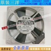 Новый sanyo denki San Ace 109S087 12025 AC230V Вентилятор охлаждения
