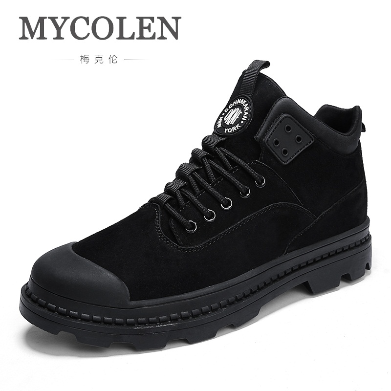 MYCOLEN 2018 The New Listing Men Sneakers Men Luxury Fashion Shoes Men High Top Shoes Men Casual Shoes Zapatillas Hombre Casual цена 2017