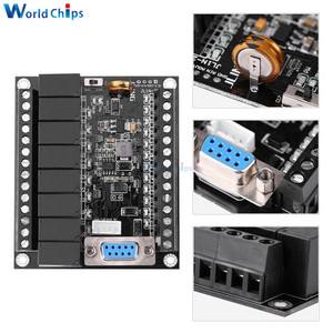 Image 1 - PLC programmable controller DC 24V PLC Regulator FX1N 20MR Industrial Control Board Programmable Logic Controller