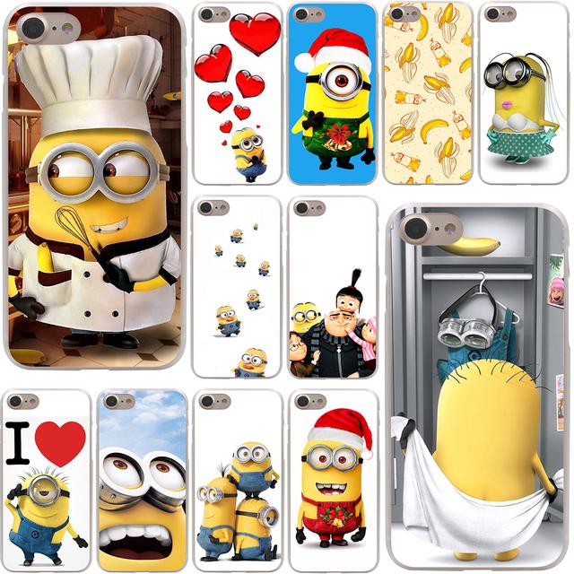 Despicable Me Minions Hard Transparent Phone Cases