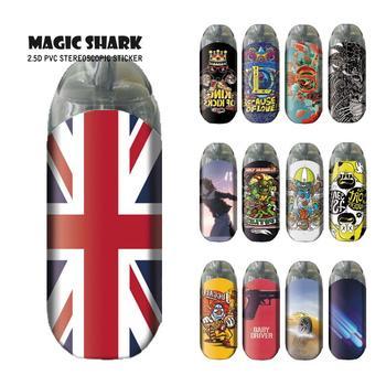 Magic Shark-pegatina a la moda para coche, pegatina a la moda para...
