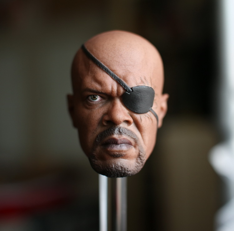 1/6 scale figure doll head shape for 12 action figure doll accessories The Avengers S.H.I.E.L.D. Nick Fury male Head carved 1 6 scale figure doll head shape for 12 action figure doll accessories iron man 2 whiplash mickey rourke male head carved