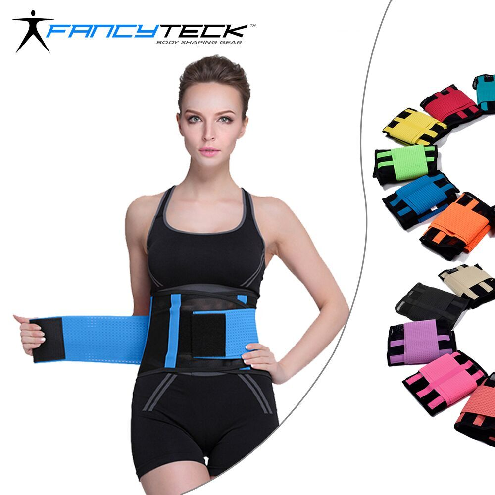 S 2XL 11 Colors Unisex Breathable Thin Slimming Belt Body Shaper Waist Cincher Trainer Belly Slim