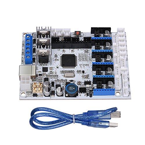 Carte de contrôleur d'imprimante 3D GT2560 de qualité Durable Compatible pour Arduino Mega2560 Ultimaker