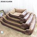 JESSE KAMM Grande Cama Do Cão Tamanho Grande animal de Estimação Almofada de Dormir Quente cama para Cachorro Golden Retriever Tapete Gato de Estimação Casa Mat 0-25kgs sofás
