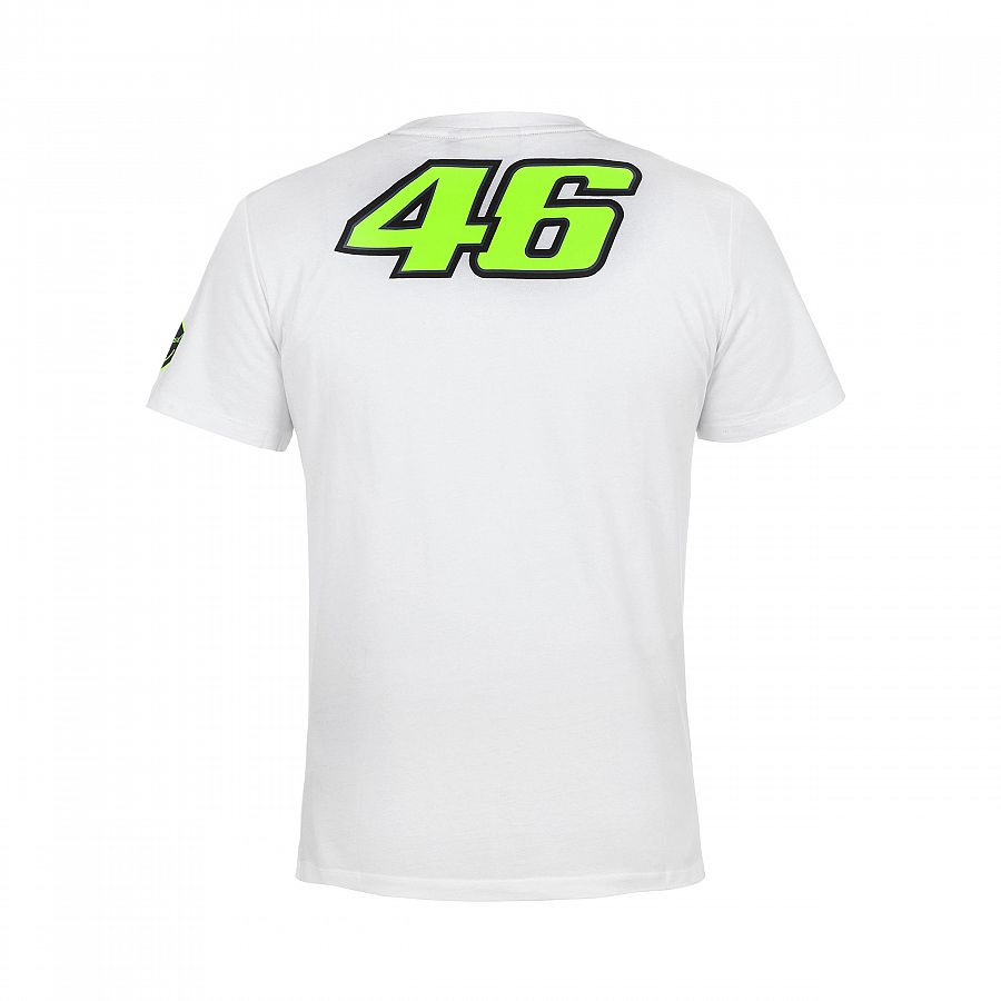 0174baff Valentino Rossi VR46 46 The Doctor Motorcycle Moto GP Racing T-Shirt ...