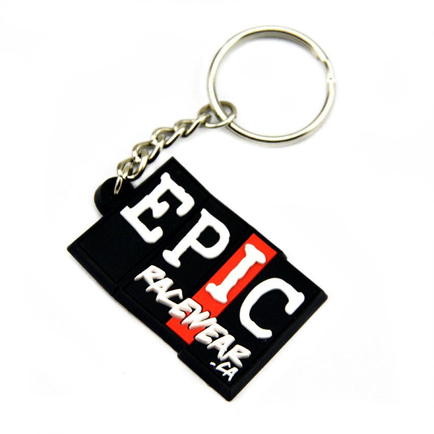 OBH Make Your Own Design 2D Soft PVC Keychain for Advertising Gift