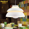 2016 new 32 cm in diameter aluminum pendant lamps simple modern stairs creative concert Cafe Restaurant lighting
