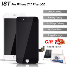 IST 100% AAAA Reemplazo Original LCD Para el iphone 7 Plus Pantalla LCD de Pantalla Táctil Digitalizador 4.7 5.5 Calidad Original LCDS