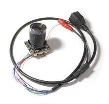 HD CCTV 2MP Network IP Camera Module main board 1920*1080 Security H.265 H.264 + CS lens, IRCUT, cable