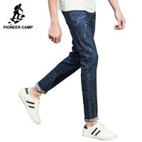 Pioneer Camp New Spring Jeans Men Brand Clothing Fashion Straight Denim Trousers Casual Slim Fit Denim