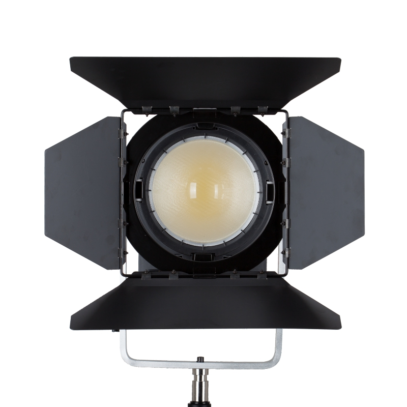 Falconeyes Led Fresnel Light 300W Bi Color Adjustable Focal Length Outdoor Photography Studio Lamp With a Gift of Remote Control in Photographic Lighting from Consumer Electronics