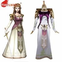 CostumeBuy The Legend of Zelda Breath of the Wild Princess Twilight Dresses Game cosplay Costume Halloween Women Dress Outfits