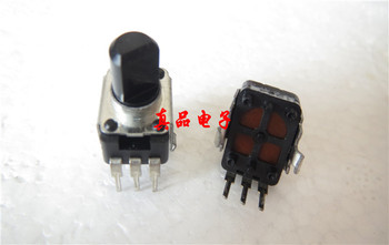 Imported Taiwan Fuhua 503WT 09 type 50K single vertical potentiometer Half handle length 8MM switch