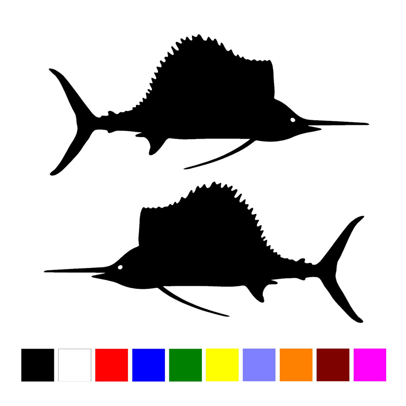 Fish Decals For Boat PromotionShop For Promotional Fish Decals - Vinyl fish decals for boats