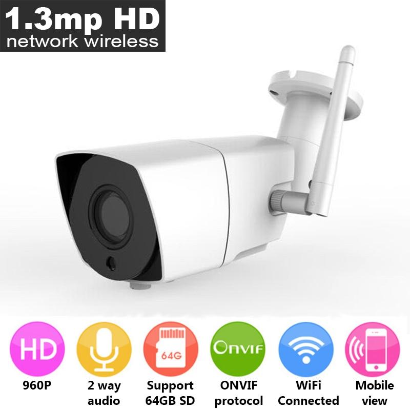 ФОТО 960P HD CAM Network Wireless Camera, Metal Waterproof iP Outdoor WiFi Camera, 1/4 inch 1.3mp Night Vision Infrared Camera
