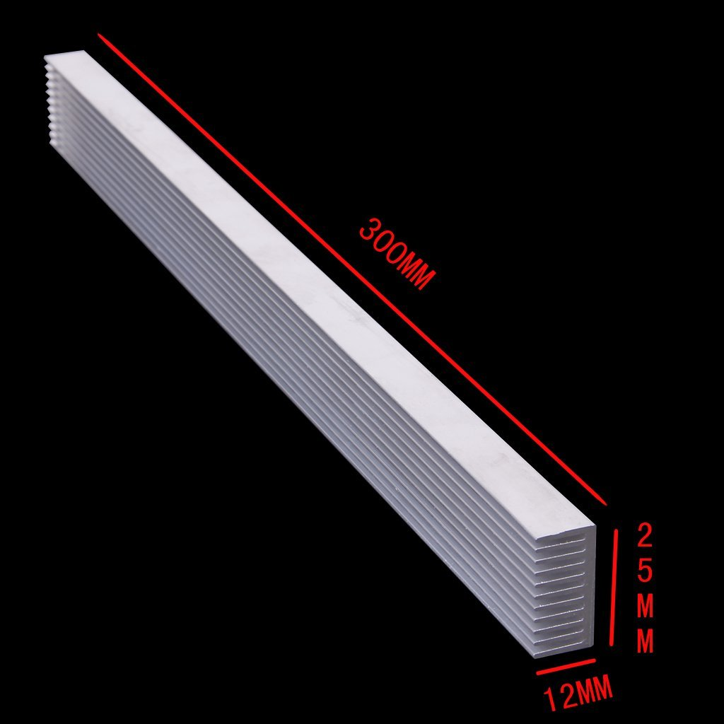 Durable Aluminum Heatsink Cooling for 4 x 3 W/ 12 x 1W LED comix durable 50 page 12 stapler w staples blue 3 pcs