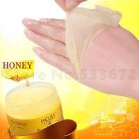 Miele mano maschera peel off rimuovere la pelle morta prodotti di bellezza membrana sbiancare smusso idratante mano di cera idratante