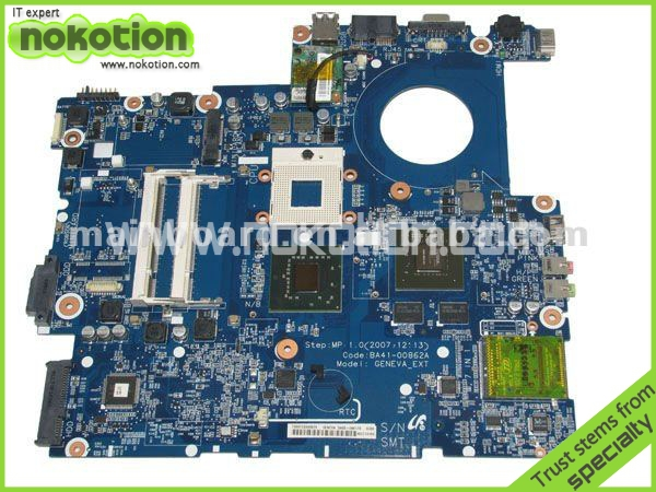 BA41-008621A LAPTOP MOTHERBOARD for SAMSUNG R700 INTEL PM965 NVIDIA GeForce 8400M GS DDR2 Mainboard
