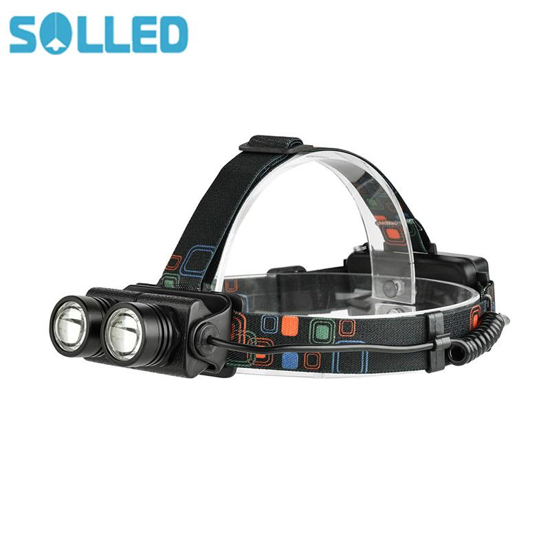 SOLLED Flexible Zoom 4 Modes Bright LED 1600LM 20W Dual XML-T6 for Night Outdoor Activities sitemap 149 xml page 4