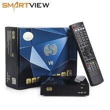 S V6 DVB S2 Mini Digital Satellite Receiver Support Xtream NOVA 2xUSB WEB TV 3G modem