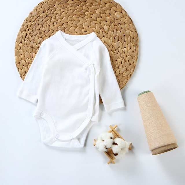 2pc/3pcs/5pcs baby clothes bodysuit boys clothes girl clothes kids long sleeves 100% cotton overalls white baby newborn bodysuit 3