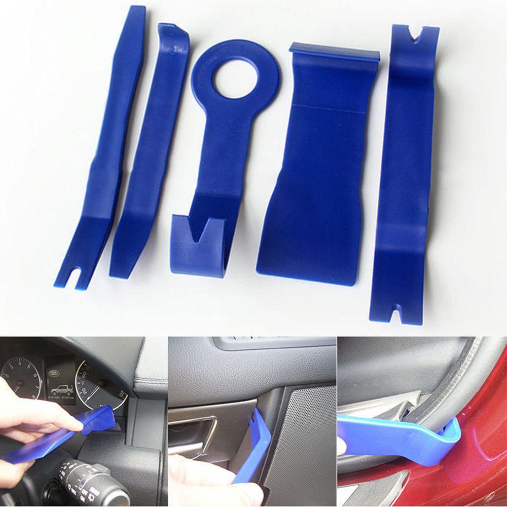 5pcs Car Door Plastic Trim Panel Dash Installation Removal