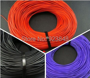 TPE stereo Bulk Cable signal line Black/Red/Purple