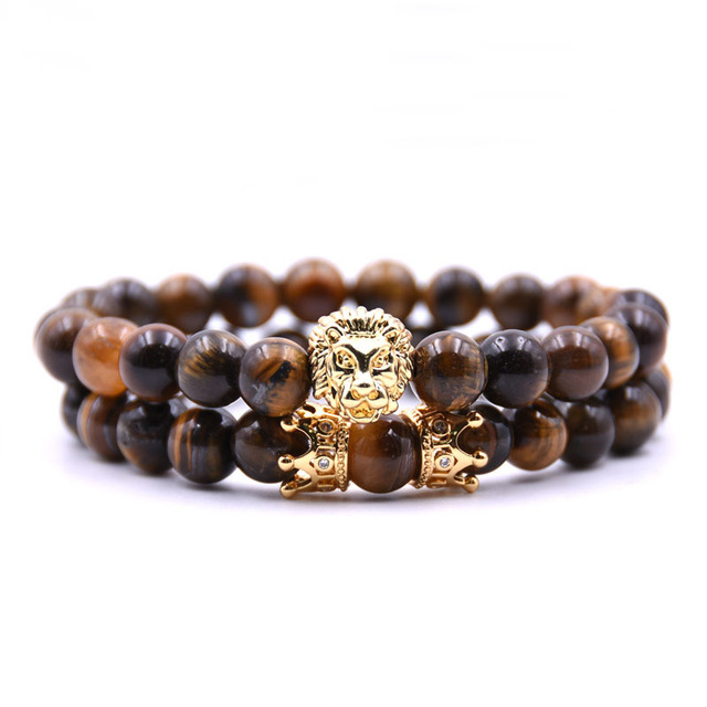 2pcs/set King Lion Bracelet 5