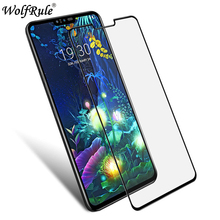 2PCS Full Cover Tempered Glass For LG V50 Glue Screen Protector ThinQ 5G