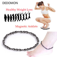 Magnet Ankle for Weight Loss Black Stone Magnetic Ankle Heal