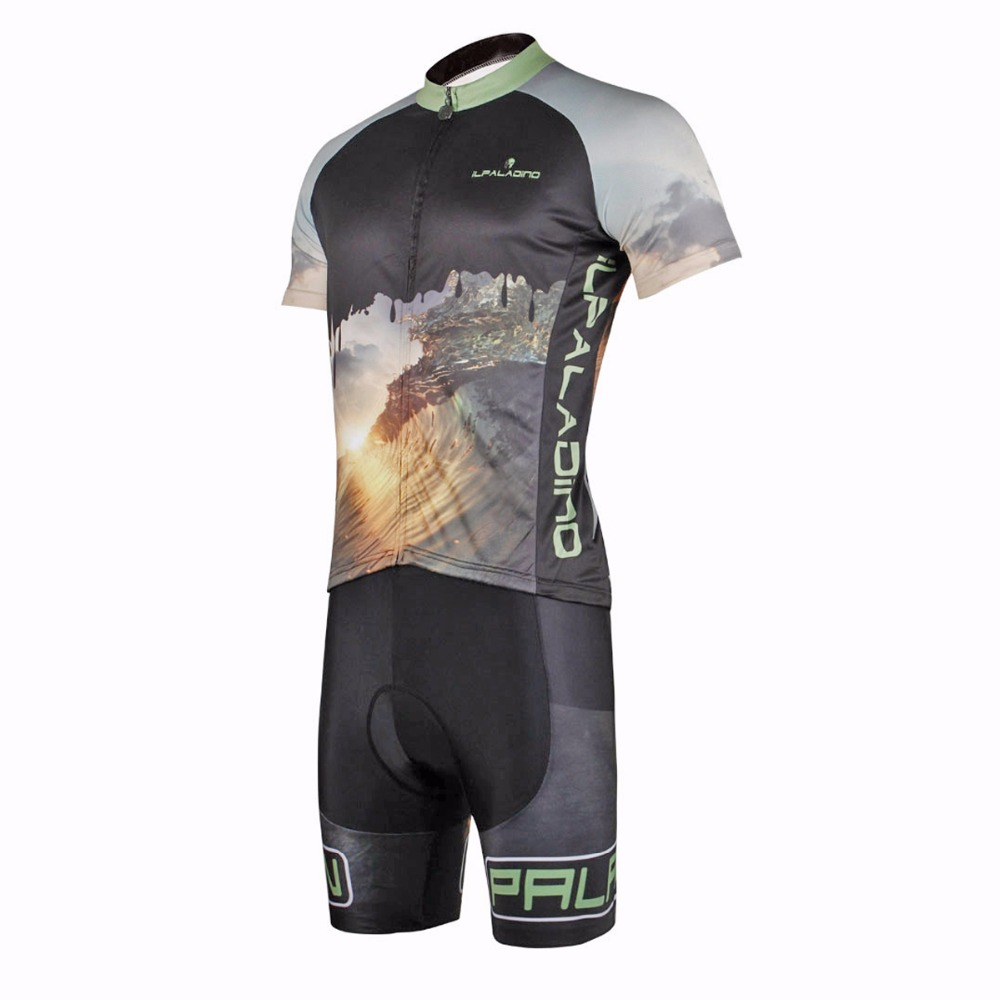 ILPALADINO Unisex Cycling Jersey Top MTB Bike Short Sleeve Tee Shirt Black  Comfortable Summer Outdoor Sports Breathable Clothing-in Cycling Jerseys  from ... 878319077