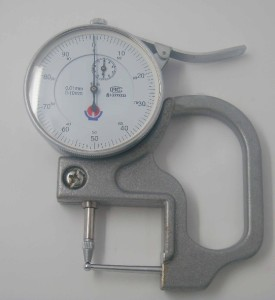 new hole thickness micrometer 0 10mm measure tools