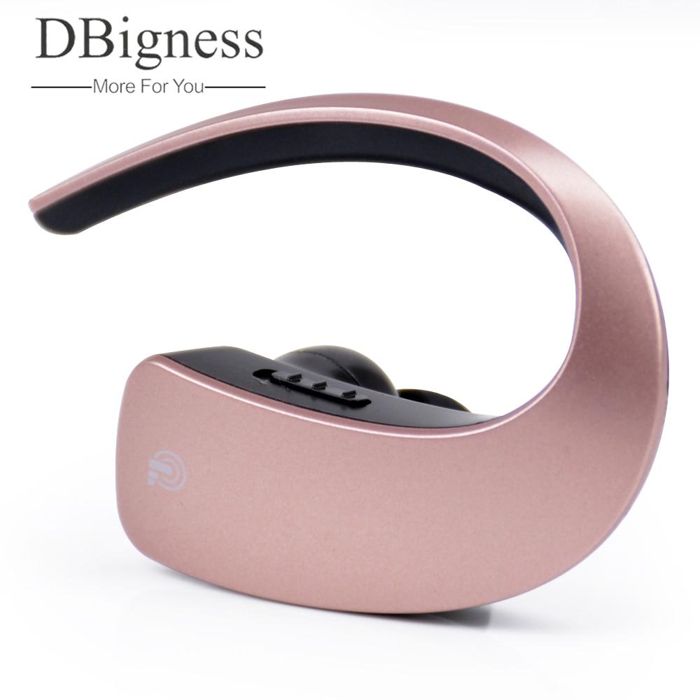 Dbigness Mini Auricolare Senza Fili Bluetooth 4.1 Auricolare Stereo Blutooth Cuffia Vivavoce Noise Cancelling per iphone tutto il telefono