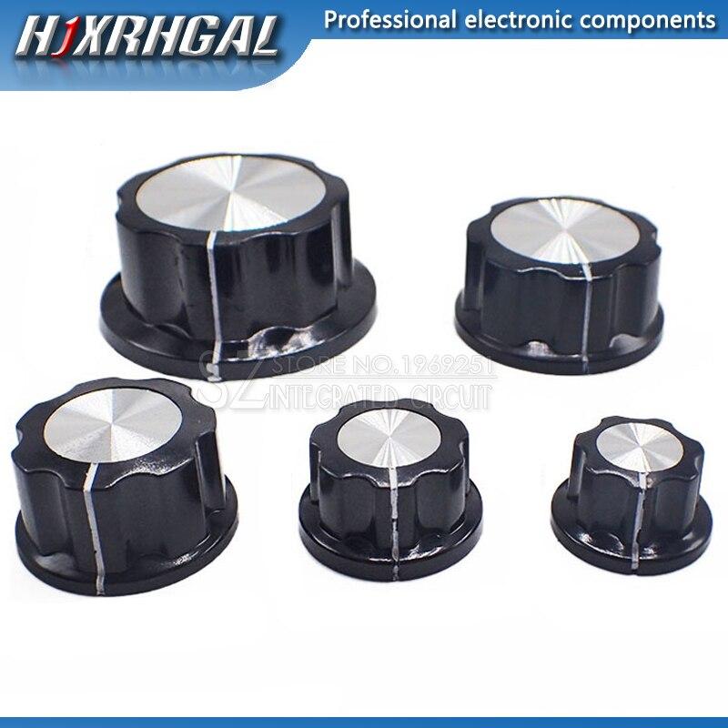 5Pcs MF-A01 MF-A02 MF-A03 MF-A04 MF-A05 Potentiometer Knob WH118/WX050 Rotary Switch Electronic 6mm hjxrhgal