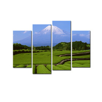 Japan S Mount Fuji Canvas Print Poster Photo Print Canvas Modern Landscape Wall Art Spray Printings