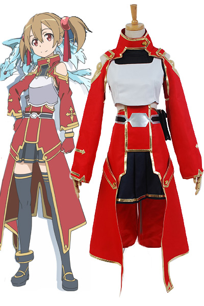 Sword Art Online Silica Keiko Ayano Battle Suit Cosplay Costume Suit Custom Made Real 100% Outfit  Anime For Halloween