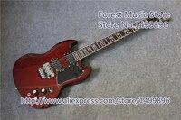 Лидер продаж Китай Тони lommi SG Электрический Гитары с хром Floyd Rose тремоло для продажи