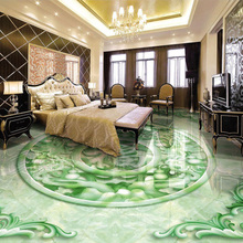 3D Stereoscopic Jade Relief Lucky Character Chinese Style Floor