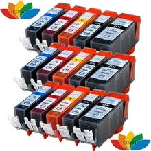 Get more info on the 15pk Compatible pgi220 cli221 ink cartridge for canon MX860 MX870 MP620 MP630 MP640 MP540 MP550 MP560 MP980 MP990 Printer
