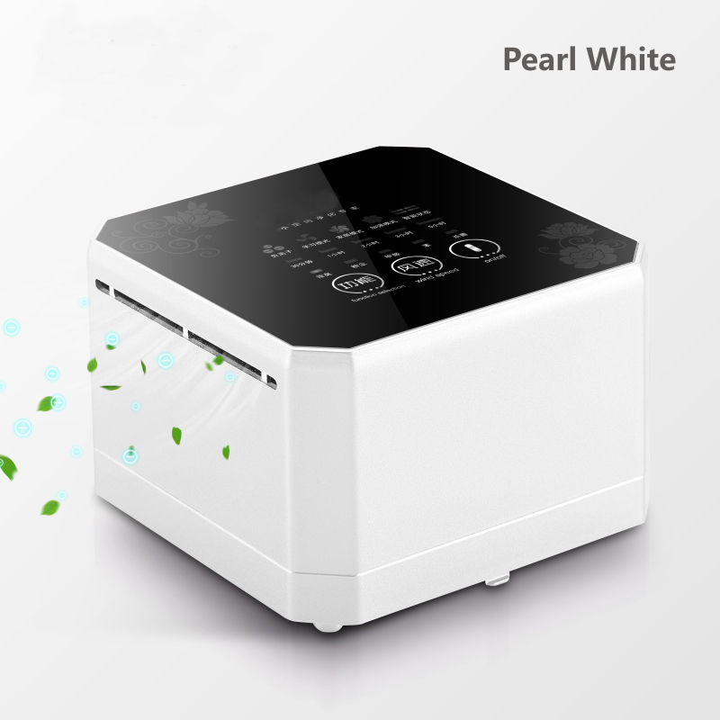 Hot sell Air Purifier Purifying PM 2.5 Cleaning Air Cleaner Negative Ion Generator Desktop Removing Formaldehyde for home offic bedroom necessity air purifier stink unpleasant odor free electric arc for removing flu germs virus high efficient air cleaning