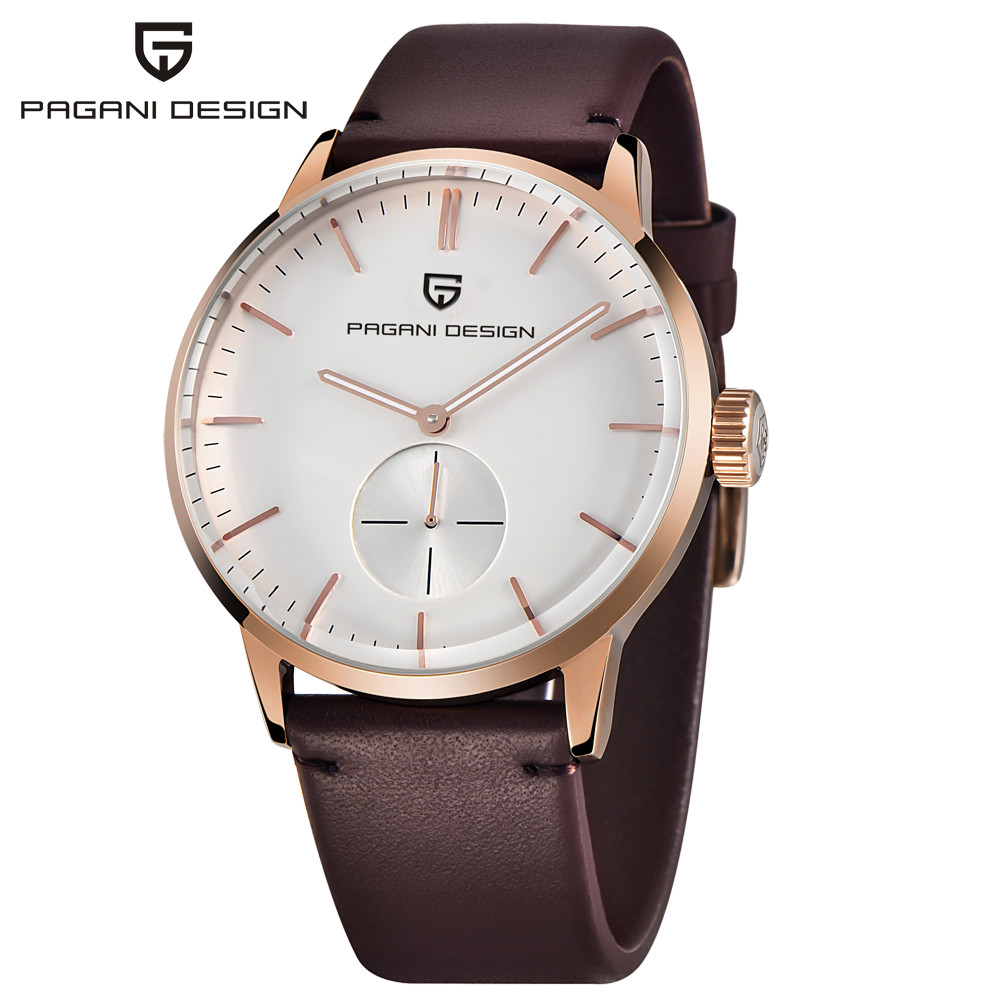 PAGANI DESIGN Luxury Brand Casual Men Quartz Watch reloj hombre Business Wrist Watch Leather Strap waterproof Relogio Masculino цена